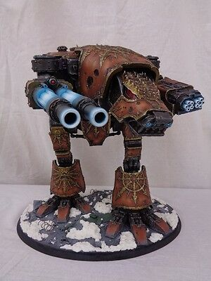 Warhammer 40,000 Chaos Space Marines Forge World Warhound Titan