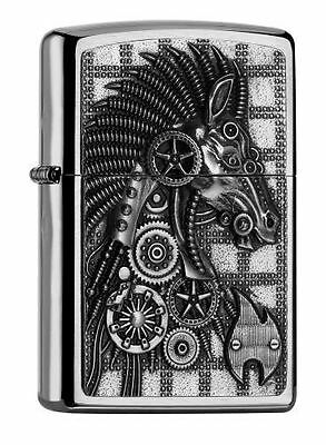 Zippo - Cyber Cheval collection printemps [2.005.053] [Acier inoxydable] NEUF