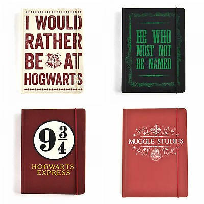 Official Harry Potter A5 Notebook Notepad Hogwarts Express Voldemort Muggles