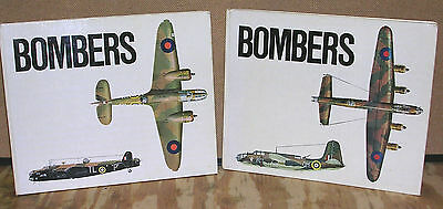 Royal Air Force Bombers of World War II in Two Volumes by Philip Moyes-1968