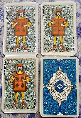 Vintage playing cards -- Non Standard Courts Waddingtons Royal Gothic