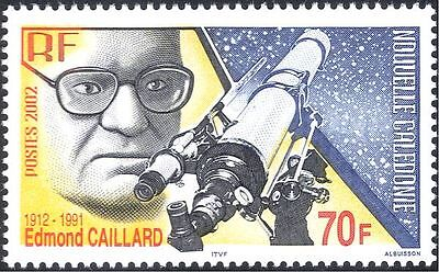 New Caledonia 2002 Caillard/Astronomer/Astronomy/Stars/Space/Science 1v (n43960)