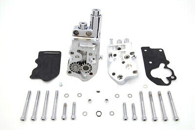 Chrome Oil Pump Assembly fits Harley Davidson,by Sifton 12-9970
