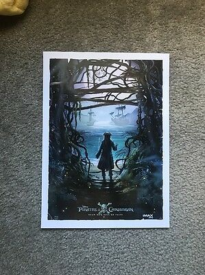Pirates Of The Caribbean Dead Men Tell No Tales - AMC IMAX Exclusive Poster
