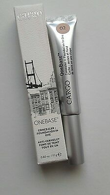 Cargo cosmetics one base concealer+foundation in one. 0.60 oz/17 gr. Tono 03.
