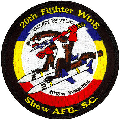 USAF 20th FIGHTER WING F-16 DEMO TEAM MORALE PATCH