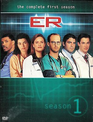 ER - The Complete First Season - 4-Disc DVD Box Set ~ FREE Shipping USA