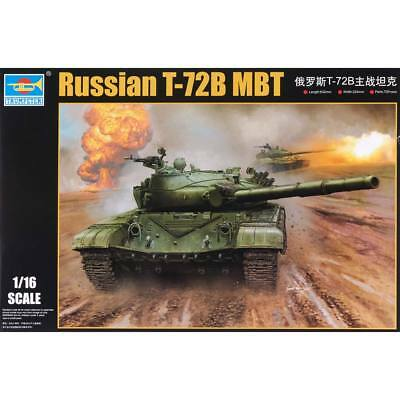 NEW Trumpeter 1/16 Russian T-72B Mod 1985 Main Battle Tank 924
