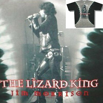 "The Doors! Liquid Blue Brand ""lizard King"" Squeeze Tie Dye T-Shirt Xl New"