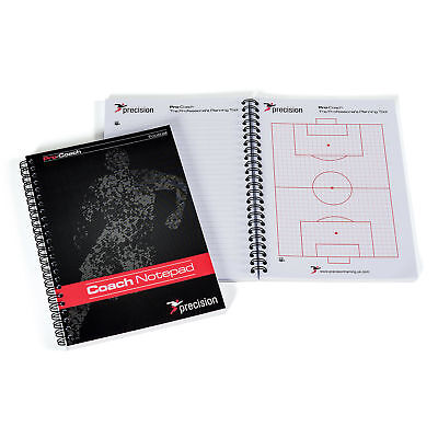 6 x Precision Training Pro Football Coaches Notepad Size A6