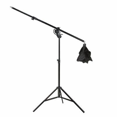 Photograph Studio Overhead Boom Arm Light Stand With Grip Head For Softbox Light