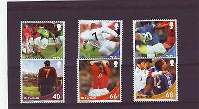 Isle Of Man - Sg983-988 2002 World Cup Football Championship