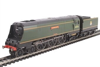 Hornby R3445 OO Scale British Railways Camelford West Country Class BR 4-6-2 #34