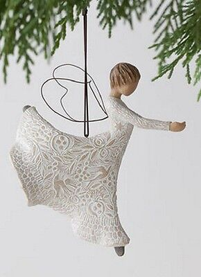 Willow Tree Dance of Life Angel Christmas Ornament 27245