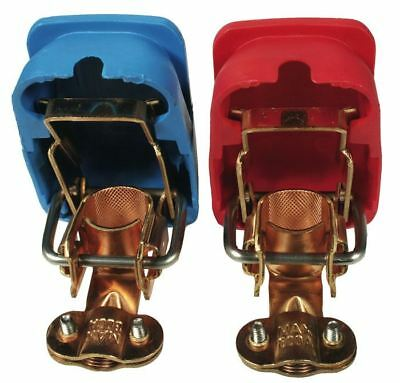 TYPE 3 Quick release battery terminal Pair with coloured cover - AC971382