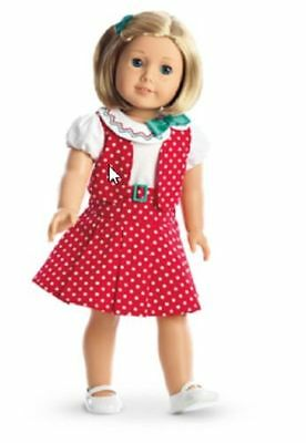 New! American Girl Doll Kit's Reporter Dress Set Complete With Box