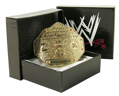 WCW World Heavyweight Champion Wrestling Metal Belt Buckle