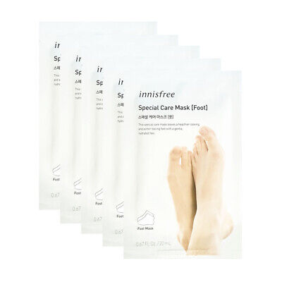 Innisfree Special Care Mask Sheet 5pcs # Foot  Free gifts