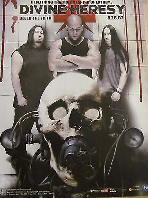 Divine Heresy, Bleed the Fifth, Full Page Promotional Ad