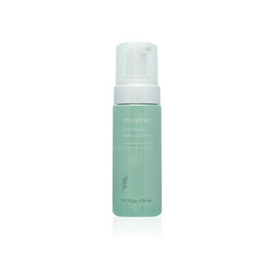 Innisfree Green Barley Bubble Cleanser 150ml Free gifts
