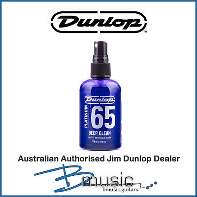 Jim Dunlop Platinum 65 Deep Clean 4 oz. - Made in the U.S.A. with Montan wax