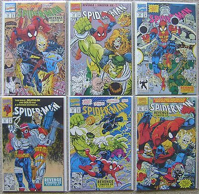 Spider-Man #18-23 Sinister Six App Marvel Comics Vf To Nm Complete Storyline