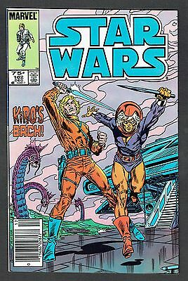 Star Wars #102 Marvel Comics 1985 VF+ Lucas Sci-Fi Rare Canadian Price Variant