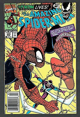 Amazing Spider-Man #345 First Full Cletus Kasady App Marvel Comics 1991 FN/VF