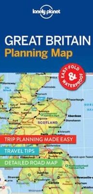 Great Britain Planning Map, Lonely Planet, 9781786579058