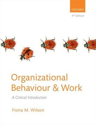 organizational behaviour paper Organizational behaviour google corporate culture in perspective - stephan weber - research paper (undergraduate) - business economics - general - publish your bachelor's or master's thesis, dissertation, term paper or essay.