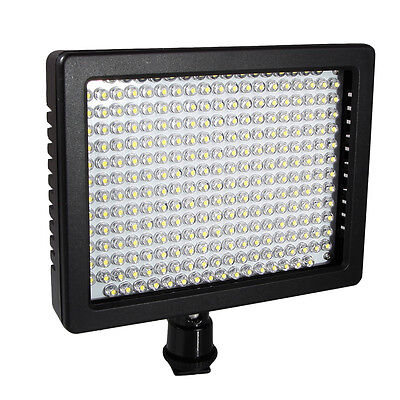 High Quality W260 LED Video Camera Light For Canon EOS 5D II 7D 650D Lighting