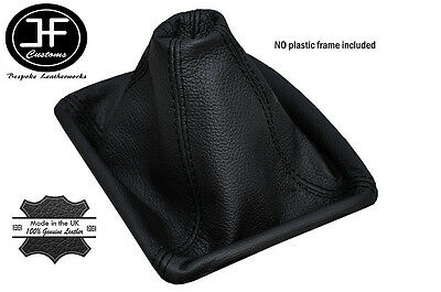 Black Stitching Manual Leather Gear Gaiter Fits Honda Crv Cr-V 2006-2012