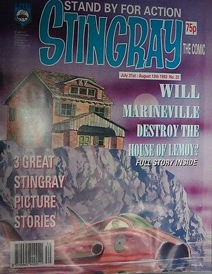 Stingray - The Comic. No 22.July 31st - August 13th 1993. ITC.