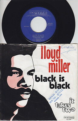 Lloyd MILLER * Black Is Black * SKA Boss REGGAE BLUEBEAT 45 * Hear!