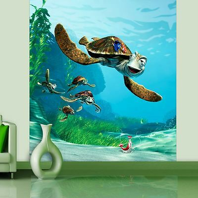 Finding Nemo 'crush' Kids Wall Mural 180 X 202Cm Kids Room Official Free P+P