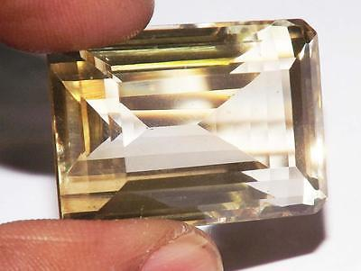 71.30 cts 100% Natural Earth Mined Vsi1 Qlty Lemon Citrine Gemstone # dlc579