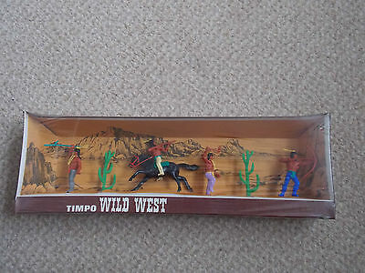 Timpo wild west Indians boxed from the 1970s