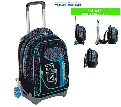 Zaino trolley Seven Scomponibile New Jack Shift 1747