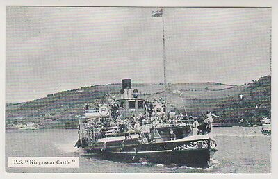 Shipping postcard - P.S Kingswear Castle