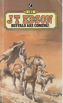 Buffalo are Coming - J T Edson - Corgi Books - Acceptable - Paperback