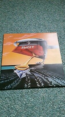 The Sweet.Off the record. original 12in vinyl.