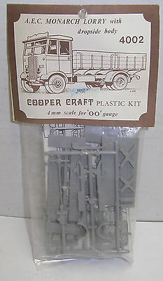 OO Scale Cooper Craft Model Kit - AEC MONARCH LORRY TRUCK #4002 NOS