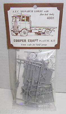 OO Scale Cooper Craft Model Kit - AEC MONARCH LORRY TRUCK #4001 NOS