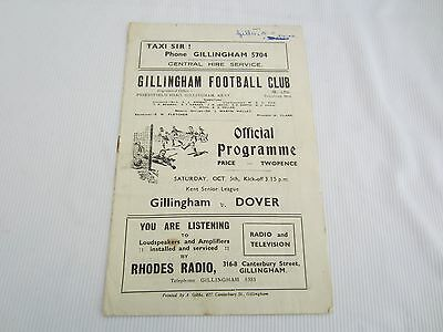 1946-47 KENT SENIOR LEAGUE GILLINGHAM v DOVER
