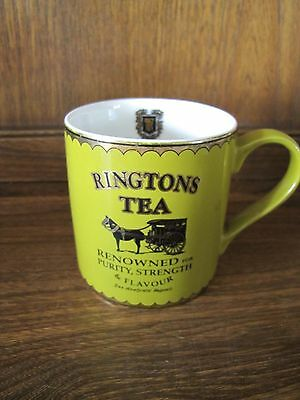 Ringtons Heritage collection Green and Gold Mug