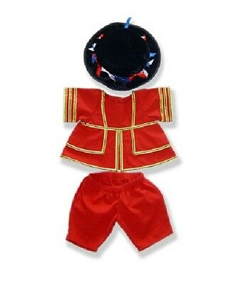 "London Beefeater Outfit outfit teddy bear clothes fits 15"" Build a Bear"
