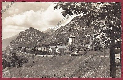 LECCO BARZIO 68 VALSASSINA Cartolina viaggiata 1944 REAL PHOTO