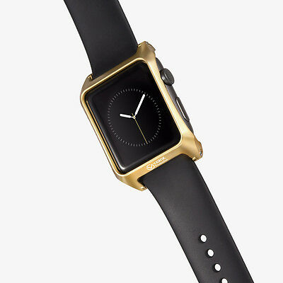 metal aluminum  protection gold for Apple Watch 42mm sport band