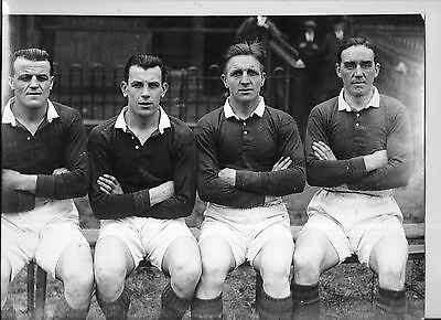 Photgraphed By Leslie Overend  4 Wakefield Trinity Rugby League Players 1920s