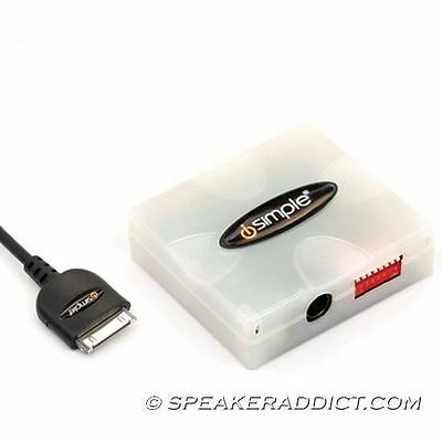 Jeep 2002 - 2007 Direct Ipod Iphone Adapter Pxdp Ch3